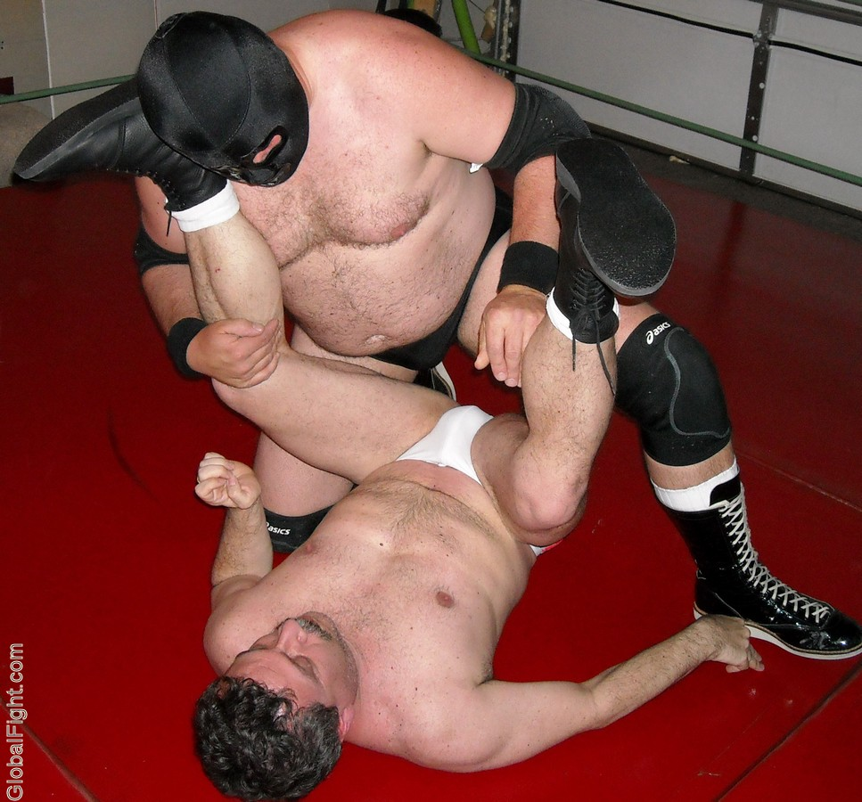domination wrestling holds powerfull wrestler heel villain