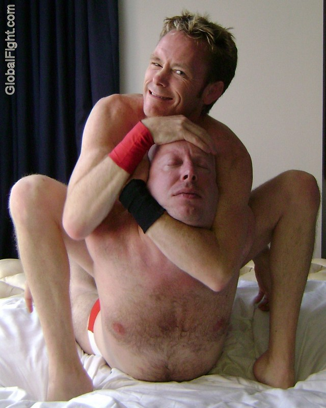 knockedout wrestling choke holds swingers bondage parties