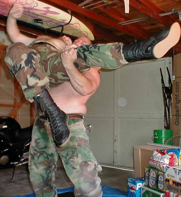 military men wrestling fighting seeking workout buddies