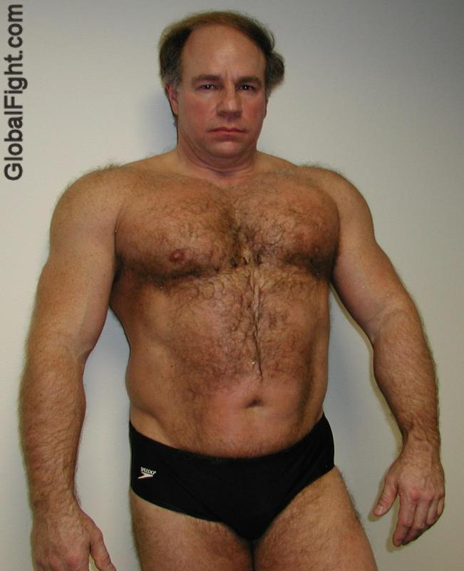 speedos hairy shoulders daddie jock strap bears