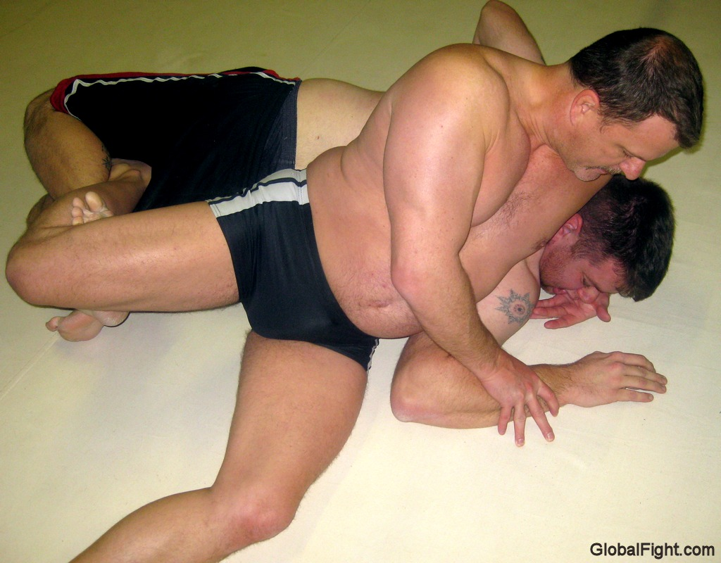 wrestling bears grappling men pre jello events bouts