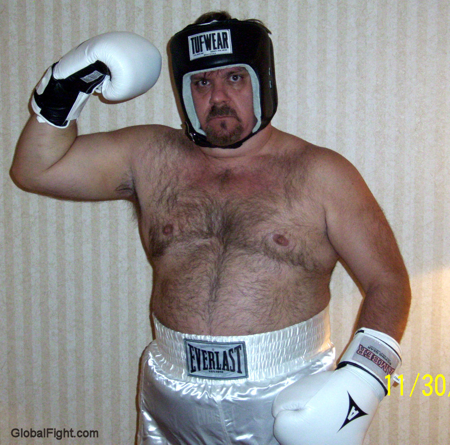 boxing daddy beefy dude