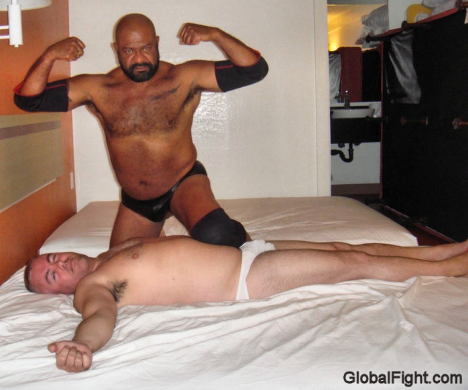 gay wrestling sex hotel matches