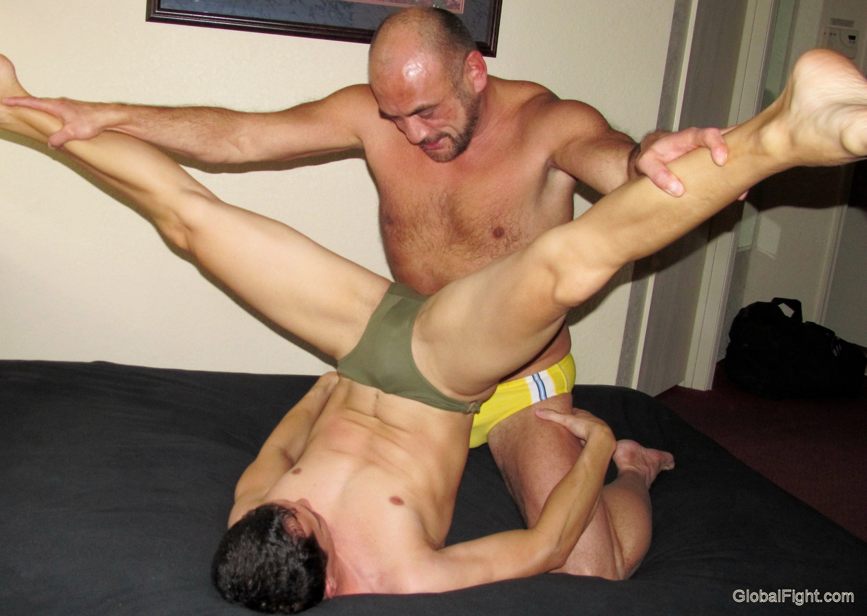 gay wrestling male domination
